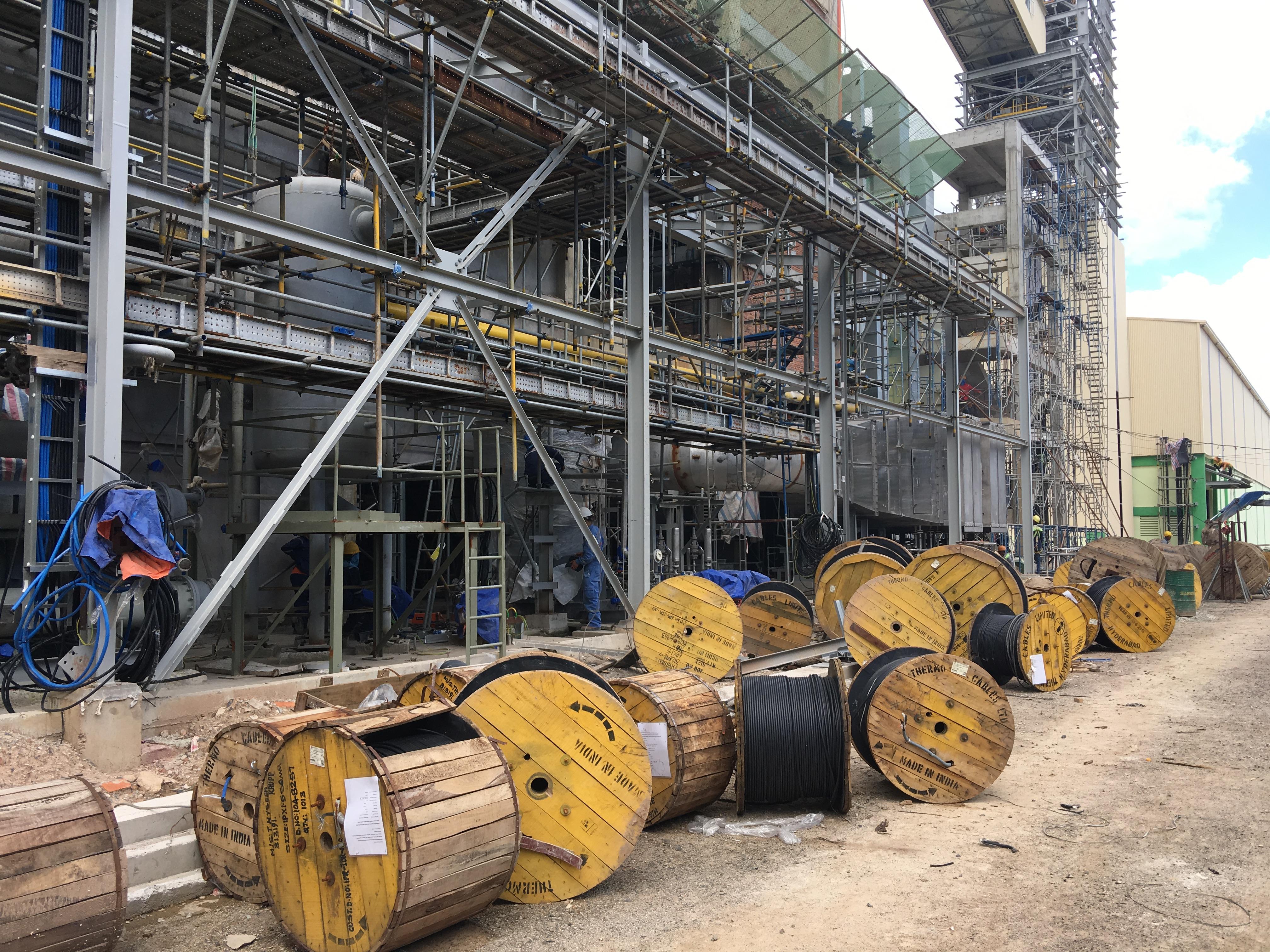 Dự án xây dựng nhà máy NPK Phú Mỹ