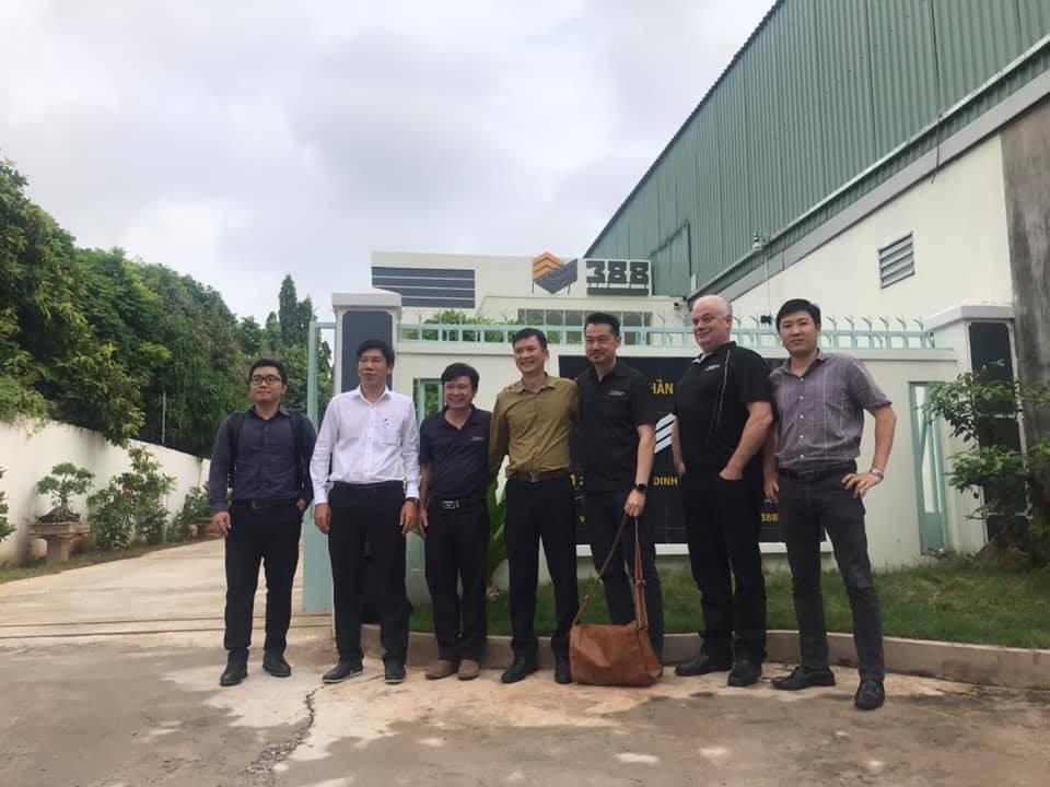 Đoàn lãnh đạo Công ty Lumina Systems đến thăm và làm việc tại 388IC