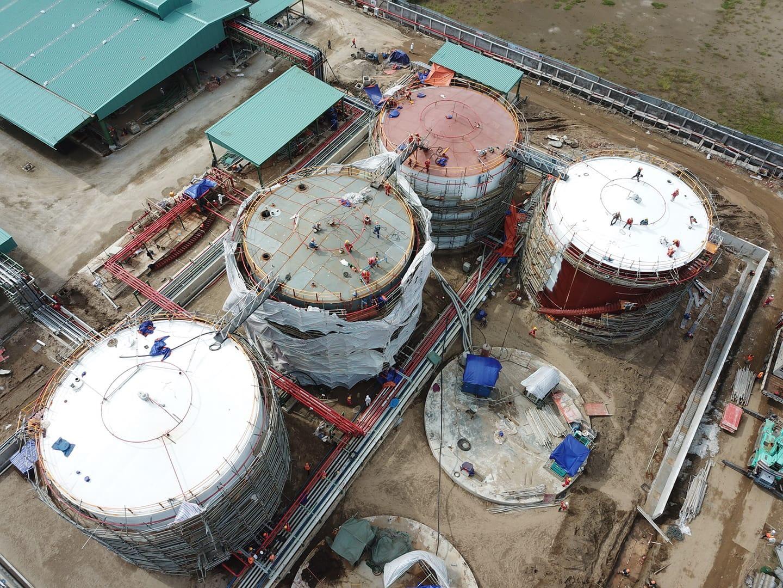 Dự án nhà máy cảng Hải Phòng